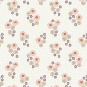 Lewis & Irene Flo's Wildflowers - 5443 - Daisies on Cream - FLO12.3 - Cotton Fabric